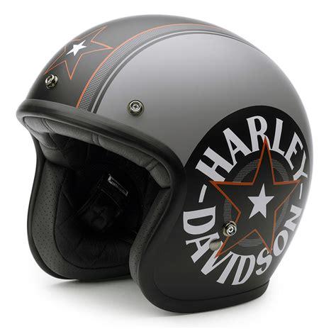 Motorradhelm Aufkleber Harley by Harley Davidson Helm Grey Star Retro Ec 98320 15e Bei