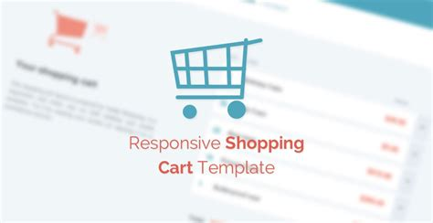 free template responsive shopping cart tutorialzine