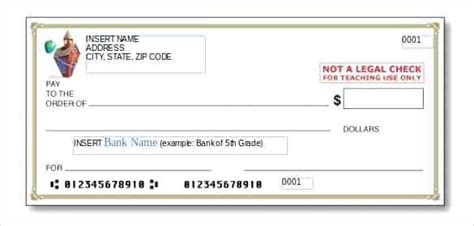 personal check template check template word virtuart me