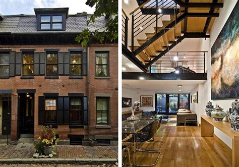 haircut boston south end on the market a transformed townhouse in the south end
