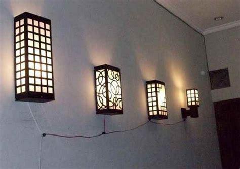 Lu Hias Dari Kayu lu hias dari bambu ruang tamu