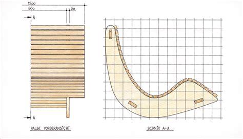 ergonomische liege selber bauen saunaliege aus holz gartenliege selbst de