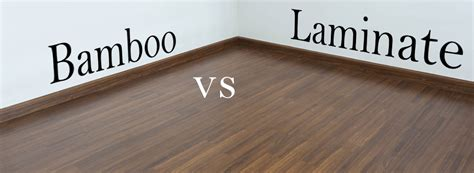 what is laminate bamboo vs laminate flooring what is better theflooringlady