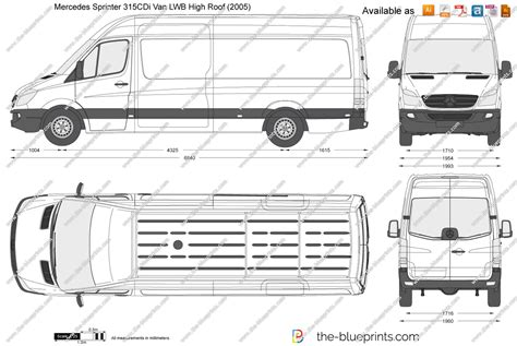 Mercedes Sprinter Height Mercedes Sprinter Luton Dimensions