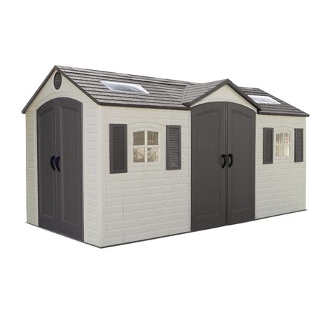 Outside Storage Buildings Plastic Sheds Metal Garden Sheds Steel Reinforced Upvc