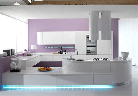 Moderne Interni Cucine by 50 Foto Di Cucine Moderne Con Penisola Mondodesign It