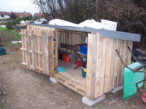 pallet shed instructions home designs  style