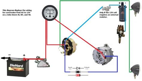 tractor alternator wiring diagram efcaviation