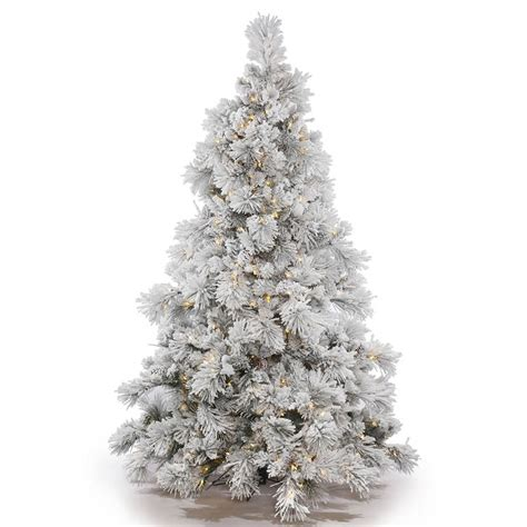 pictures of flocked christmas trees christmas lights