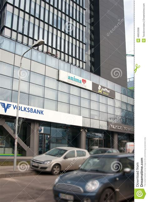 bank volksbank volksbank bank building editorial stock photo image