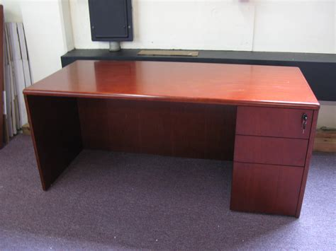 endearing cherry wood office desk with additional