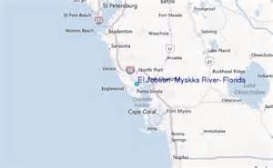 map river florida el jobean myakka river florida tide station location guide