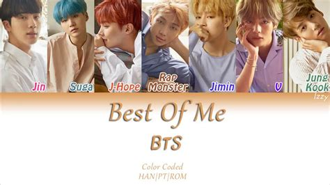 best of me bts 방탄소년단 best of me legendado pt br color coded han