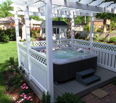 8 ways to place your original outdoor jacuzzi hot tubs