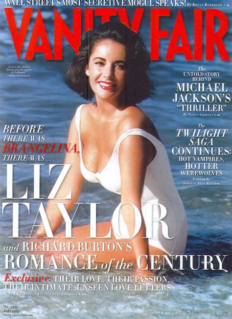 Vanity Fair Magazine Archives by Backissues Vanity Fair July 2010 Product Details