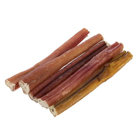 bully stick for dogs quot only pet free range low odor 6 quot quot bully stick treat size 5 count beef