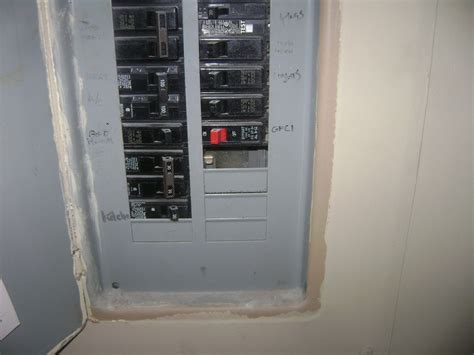 missing knock out plates n electrical panels notes from