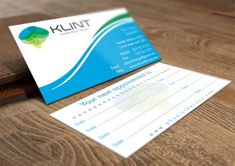 Physiotherapy Business Cards Templates by Business Cards Design For Physiotherapist Images Card