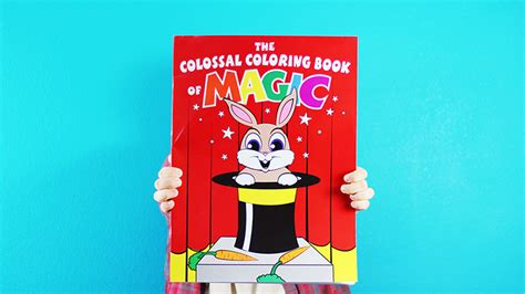 Colossal Magic Coloring Book by Danny Orleans