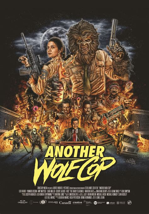 movie club another wolfcop by leo fafard another wolfcop poster prepares for a night of chaos exclusive bloody disgusting