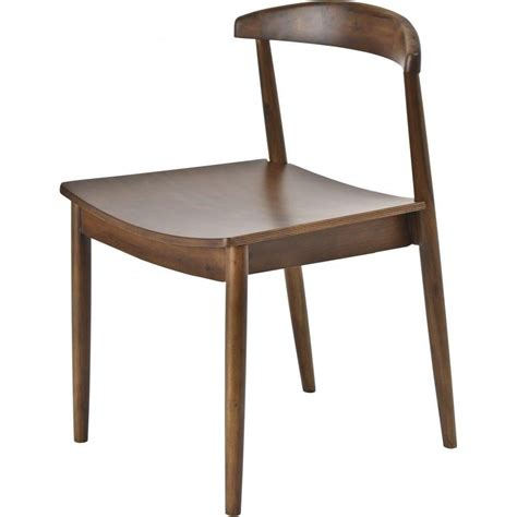 Walnut Wood Dining Chairs Buy Libra Walnut Wood Retro Dining Chair From Fusion Living
