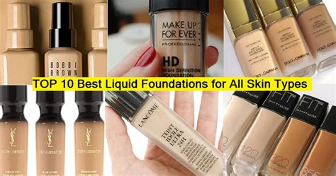 best kind of foundation best types of foundation makeup saubhaya makeup
