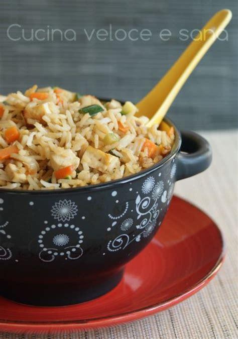cucina vegetariana veloce riso con tofu e verdure ricetta vegetariana in cucina