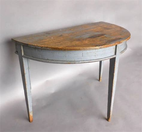 Demi Lune Tables by Gustavian Demilune Table At 1stdibs