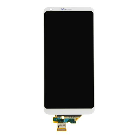 Lcd Lg lg g6 platinum lcd screen and digitizer with frame fixez