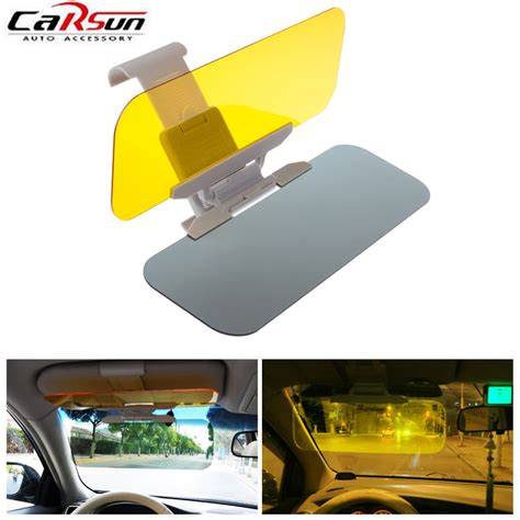 Sun Visor Aylaagya Ori 1pc 2 car sunshade 1pc black auto accessories car styling car sun visor window block retractable anti