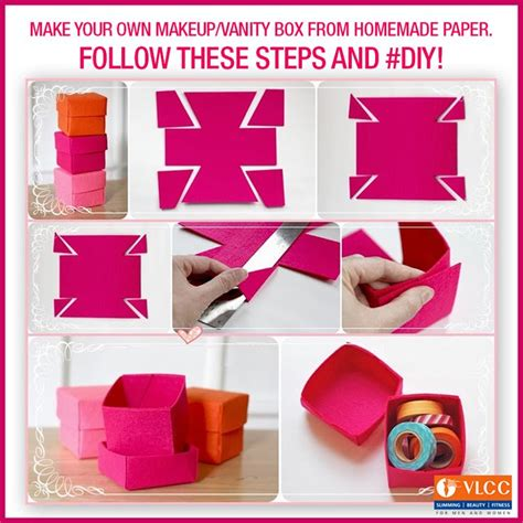 How To Make Your Own Paper - how to make your own makeup box saubhaya makeup