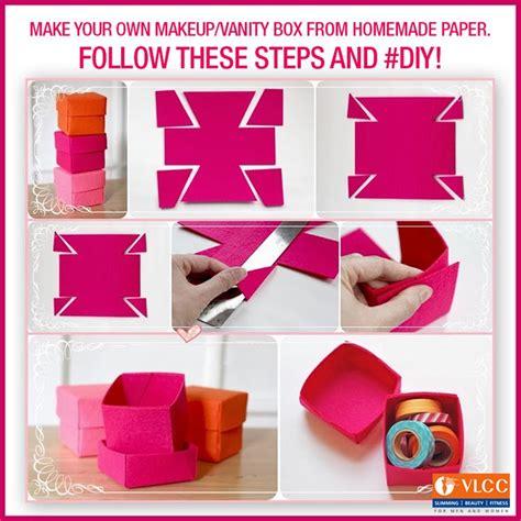 Make Own Paper - how to make your own makeup box saubhaya makeup