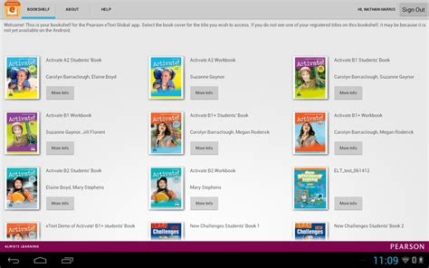pearson etext global android apps on play