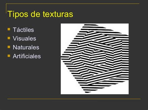 imagenes visuales tipos las texturas
