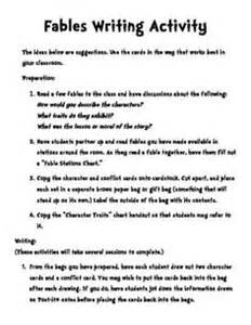 Writing A Fable Template by Tales Fables On Tales