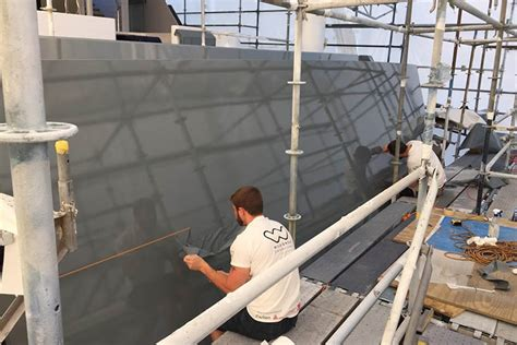 boat hull protection film hull protection with vinyl wrap a complete guide on yacht