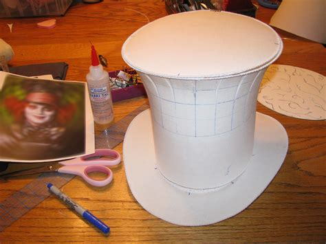 mad hatter hat template flared top hat mad hatter pt 2