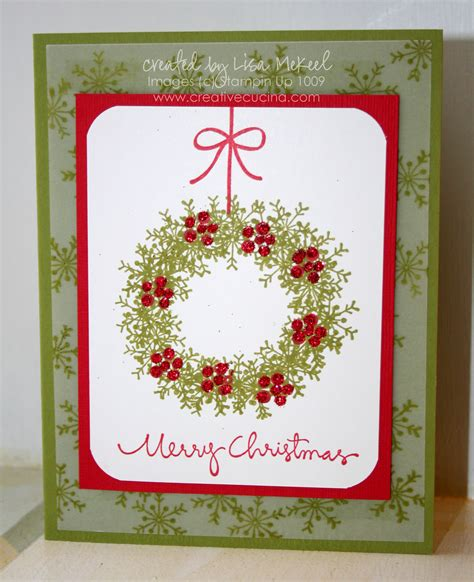 how to make a card wreath traditional card wreath using snowflake st