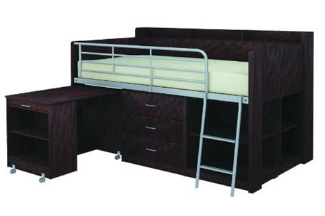 Loft Beds With Storage And Desk by Loft Bed With Storage And Desk