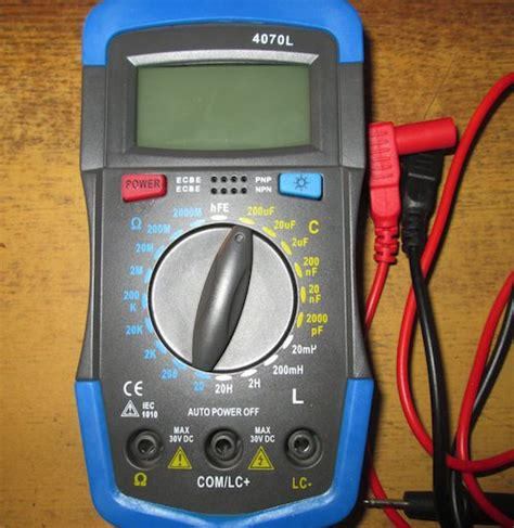 test capacitor with multimeter repair how to test capacitors of non working circuit board using capacitor meter electrical