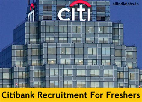 Citi Mba Hiring by Citibank Recruitment 2018 2019 Clerk Po And So Vacancies