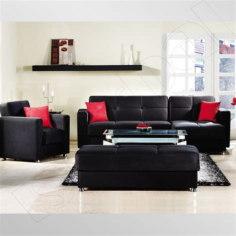 Black Living Room Furniture Decorating Ideas Black Leather Sofa Decorating Ideas Iron