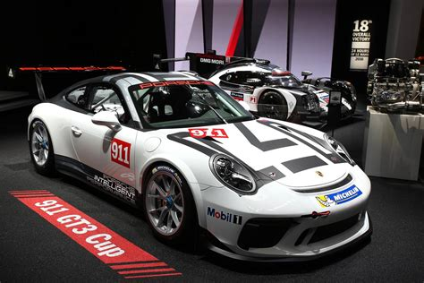 Carrera Porsche Gt3 by Paris 2016 Porsche 911 Gt3 Cup Gtspirit