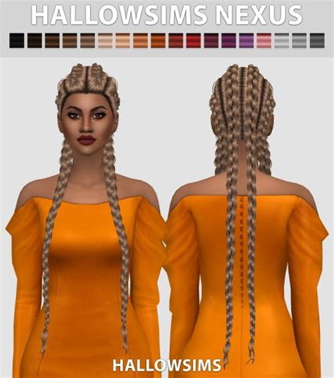 sims 4 cc braids 1000 images about sims 4 hair on pinterest ea sims 4