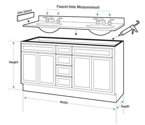 Base Cabinet Sizes by Cabinet Dimensions Bathroom Vanity Base Cabinet