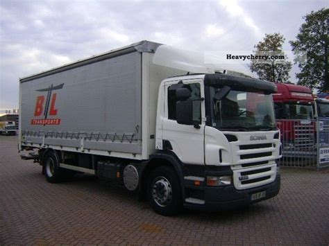 scania p230 manual gear retarder 2008 box truck photo and