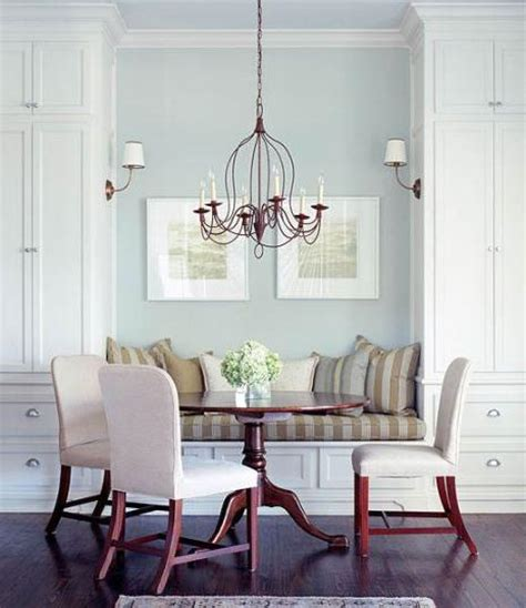 Dining Room Built In Bench Plans Built In Banquette Transitional Dining Room