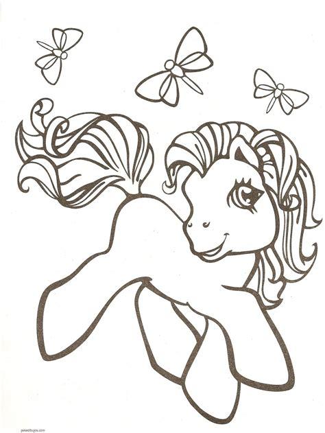 imagenes de unicornios infantiles para colorear dibujos de pony para colorear