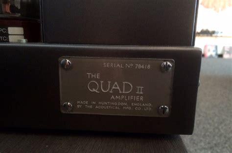 Quad Neu Lackieren by Schopper Ag Monoblock Endstufen Quad Ii
