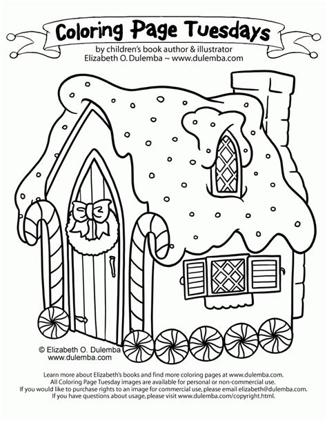Gingerbread Characters Coloring Pages